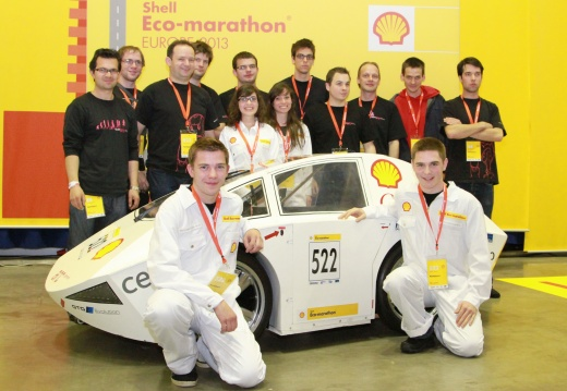 Shell Eco-marathon 2013